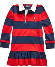 Polo Ralph Lauren Toddler Girls Rugby Jersey Dress