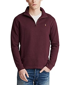 Men's Big & Tall Quarter-Zip Pullover