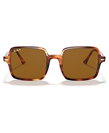 SQUARE II Polarized Sunglasses, RB1973 53