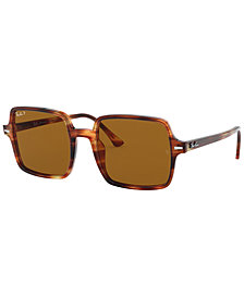 Ray-Ban SQUARE II Polarized Sunglasses, RB1973 53