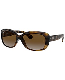 JACKIE OHH Polarized Sunglasses, RB4101 58