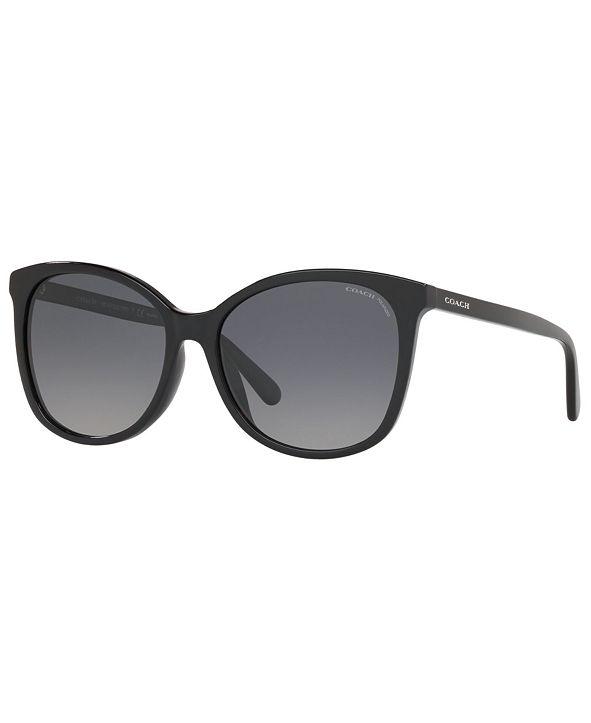 COACH Women's Polarized Sunglasses