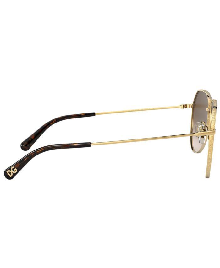 Dolce & Gabbana Women's Sunglasses, DG2244 & Reviews - Sunglasses by Sunglass Hut - Handbags & Accessories - Macy's