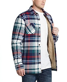 Men's Sherpa-Lined Shirt Jacket