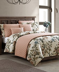 Lillith 8-Pc. King Comforter and Quilt Set