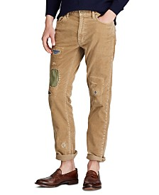 Polo Ralph Lauren Men's Slim Straight Corduroy Pants