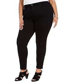 Plus Size Curvy Skinny-Fit Jeans, Created For Macy's