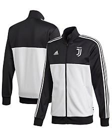 adidas Men's Juventus Club Team Three Stripe Track Jacket