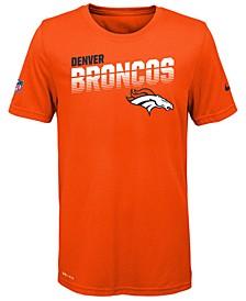 Big Boys Denver Broncos Sideline T-Shirt