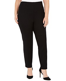 INC Plus Size Side Zip Pants, Created For Macy's