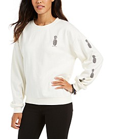 Juniors' Hello Aloha Fleece Sweatshirt