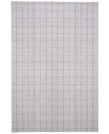 Tamworth Check LRL6450C Silver Area Rug Collection