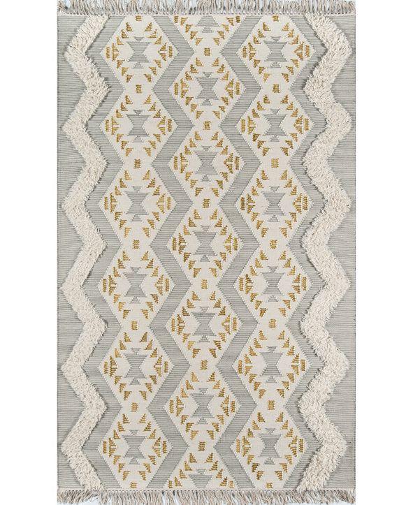 Novogratz Indio Ind-1 Gray Area Rug Collection
