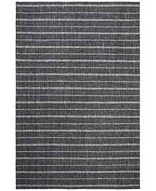Miles Stripe LRL6400A Charcoal Area Rug Collection