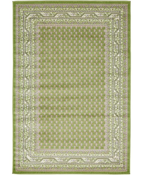 Bridgeport Home Axbridge Axb1 Green Area Rug Collection
