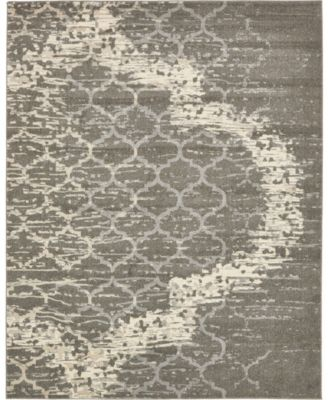 Arbor Arb8 Light Gray 7' x 10' Area Rug