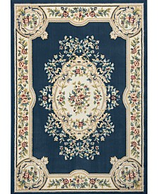 Nourison Juliette Jul01 Navy 7'10 x 10'6 Area Rug
