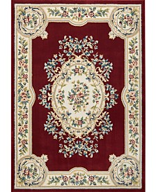 Nourison Juliette Jul01 Red 8'10 x 11'10 Area Rug