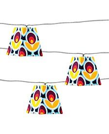 Soji Solar String Lights - Mod Tulip Solar Lantern