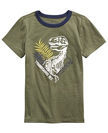 Little Boys Dinosaur-Print T-Shirt, Created For Macy's