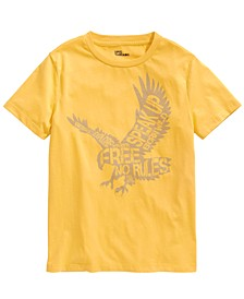Big Boys Eagle Print T-Shirt, Created For Macy's