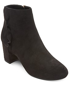 Rockport Women's Total Motion Oaklee Ruffle Ankle Boots