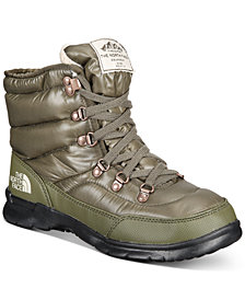 The North Face Women's ThermoBall Lace-Up Water Resistant Booties