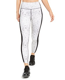 Snake-Print Colorblocked Leggings, Created for Macy's