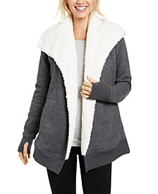 Ideology Sherpa Fleece-Lined Wrap, Created for Macy's