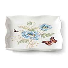 Butterfly Meadow Square Dish, Macy's Exclusive