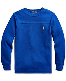 Toddler Boys Waffle Knit Thermal