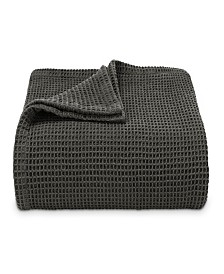 Vera Wang Waffleweave Twin Blanket