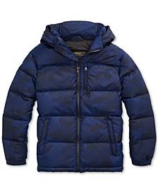 Big Boys Riptop French Navy Camo Jacket, Created for Macy's