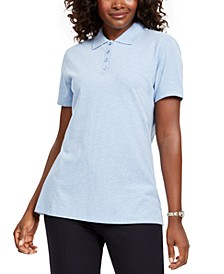 Petite Cotton Polo Shirt, Created for Macy's