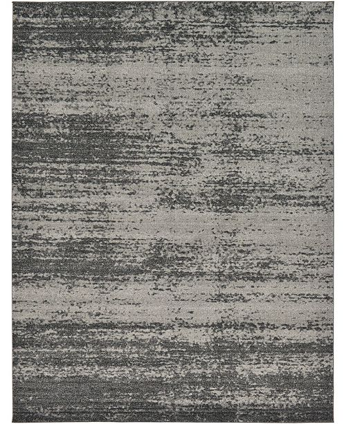 Bridgeport Home Lyon Lyo3 Dark Gray Area Rug Collection