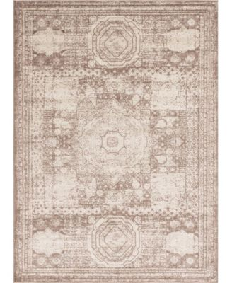 Mobley Mob2 Light Brown 5' x 8' Area Rug