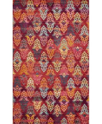 CLOSEOUT! Arcata Arc1 Rust Red 9' x 12' Area Rug
