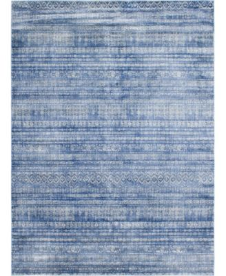 Haven Hav2 Navy Blue 8' x 10' Area Rug