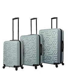 Molded Art Maze Hardside Spinner 3-Pc. Luggage Set