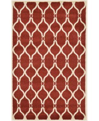 Arbor Arb6 Red 7' x 10' Area Rug