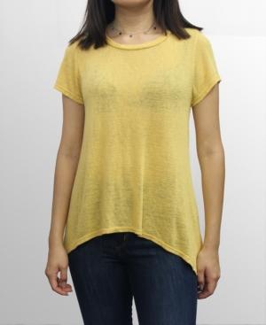 1804 Womens Slub Jersey Scoop Neck Swing T-Shirt