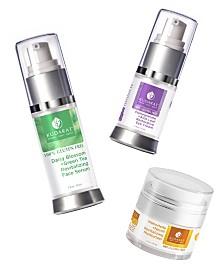 Kudarat Daily Renewal Face Collection Face Serum, Eye Cream, Moisturizer, 2.5 oz