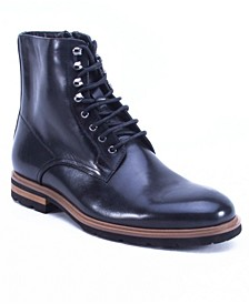 Men's High Top Leather Boot