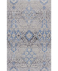 D Style Zandra Mza8 Pewter Area Rug Collection