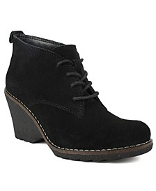 Lambert Lace-Up Booties
