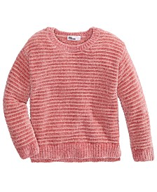 Epic Threads Toddler Girls Metallic-Stripe Chenille Sweater, Created For Macy's