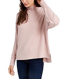 Juniors' Cozy Mock Neck Pullover