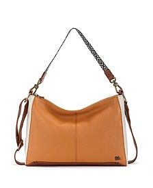 Camila Leather Shoulder Bag