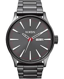 Nixon Men's Sentry Stainless Steel Bracelet Watch 42mm