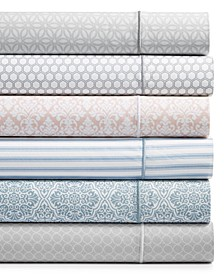 Waverly Cotton 450-Thread Count 6-Pc. Printed Sheet Sets